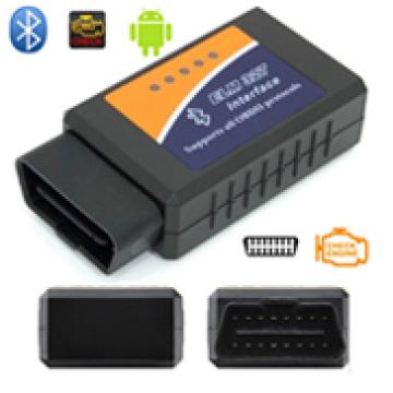 2016 les œuvres les plus chaudes sur Android couple Elm327 Bluetooth Elm 327 OBD2 OBD II Bluetooth auto voiture Scanner de Diagnostic