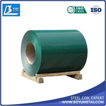 Première bobine en acier prépeinte PPGI PPGL CGCC Tdc53D + Z