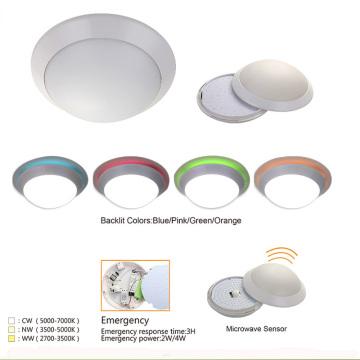 Ultra Thin Digital Surface Mounted Absorb Dome Light Motion Sensor LED Plafond Lamp