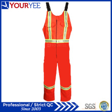 Orange Safety Protective Hi Vis Fr Bib Overall Pants (YBD119)