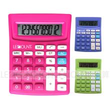 12 dígitos Opcional de impuestos de doble Power Calculadora de escritorio (LC240B)