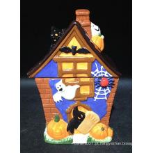 Pão-de-cerâmica Hand-Painted biscoito do Dia das Bruxas