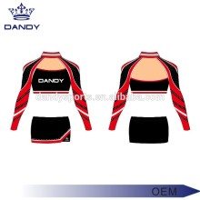 Benutzerdefinierte Strass Varsity Cheer Uniformen