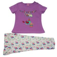 Лето дети девочки костюм дети одежда