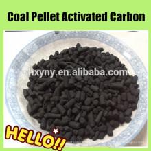 Diâmetro 3 milímetros de carvão carbônico com base de carvão para adsorção de gás