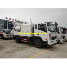 Camiones mezcladores de bomba de concreto DFAC de 4m3