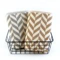 Toalha de banho de sarja tingida em fio de algodão 100%