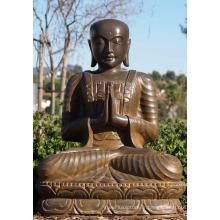 Célèbre Design Métal Artisanat Coulée Taille De La Vie Bronze Statues De Bouddha Bali