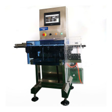 ALWELL100g YSWP-150H High Speed 5g Stainless Steel Touch Screem Check Weigher in Weighing Scales Automatic Dynamic Checkweigher