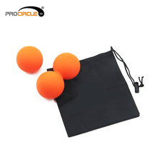 Colorful Silicon Lacrosse Single Massage Ball Orange
