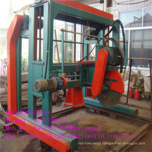 Automatic Double Head Angle Cutting Band Sawmill for Sale