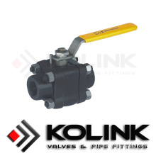 Forged Carbon Steel Stainless Steel Ball Valve