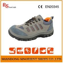 Chaussures de sécurité de bonne qualité, chaussures de sécurité en cuir en daim RS011