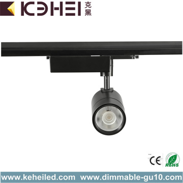 25W LED Track Lights Warm White 4 Wire