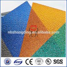 Polycarbonat kleine geprägte Blatt / PC-Diamant-Prägeplatte