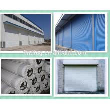 galvanized steel roll shutter garage door/roll shutter door/metal garage door forming machine