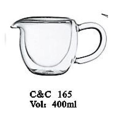 Handmade Cheap Price Glass Cup for Juice / Wine / Ice Cream 400ml