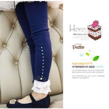 as calças do girlsdress do bebê / estilo coreano caçoam calças para o outono