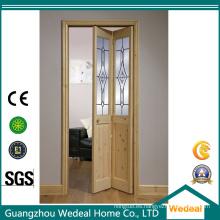 Habitación interior / armario acústico plegable de madera / puerta de acordeón