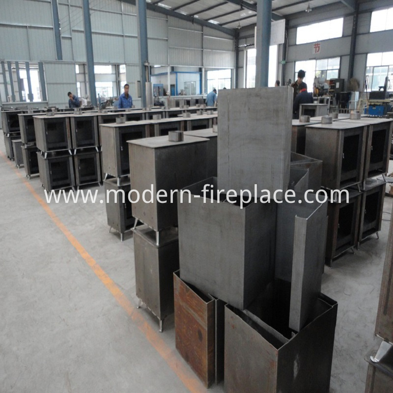 Wood Burner Large Stoves Production