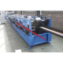 Automatische C / Z Purlin Schnellwechselbare Kaltrollenformmaschine Produktionslinie