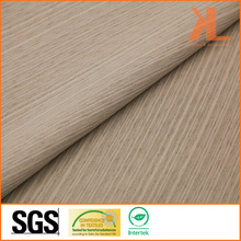 Polyester Home Textile Wide Width Inherently Fire Retardant Brown Striped Fireproof Curtain