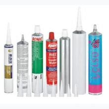 Складные алюминиевые трубки для клея и Ab резина