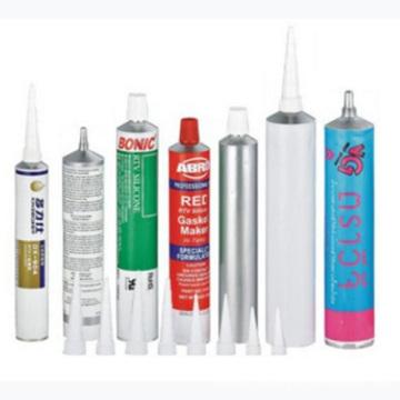 Faltbare Aluminium-Rohr für Kleber und Ab Kautschuk