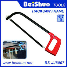 8′′/10′′/12′′ Adjustable Aluminum Hacksaw Frame with Steel Blade