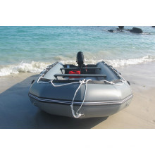 Inflatable Pontoon Boat Beach Boat for Fishing with Motor