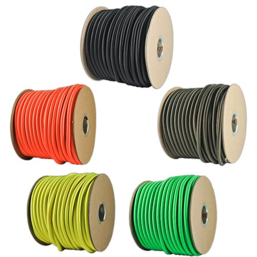 Braided Ployester 0 8 8mm Elastic Rope