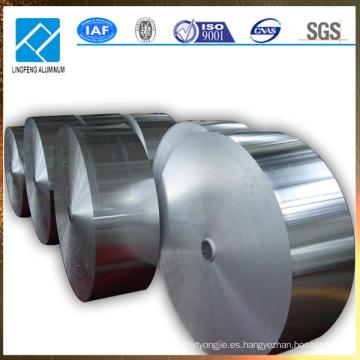 Cubiertas de aluminio en bobinas con varios tipos