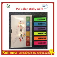ПЭТ Цвет заметка для офиса Поставка канцелярских товаров