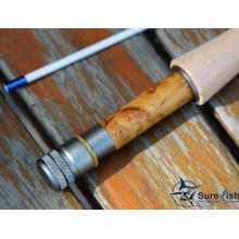 Pas cher en gros Toray Nano carbone fibre pêche à la mouche Rod