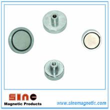 Starker dauerhafter Neodym-Magnet-Topf (NdFeB Topf-Magnet)