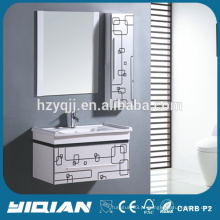 China Cabinet Modern Hanging Paint Espelhado PVC Waterproof Bathroom Cabinets