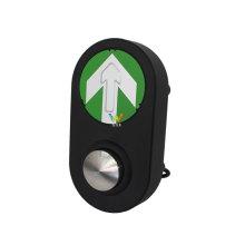 Botón semáforo peatonal de guía de carretera de mini cruce