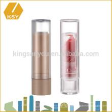 Vacío cosméticos contenedor de inyección de plástico barato lápiz de labios