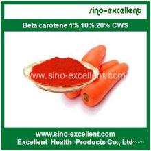 Beta Carotène de haute qualité 1% 10% 20%