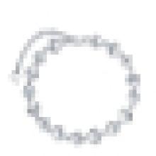 Pulseira de prata esterlina 925 das mulheres