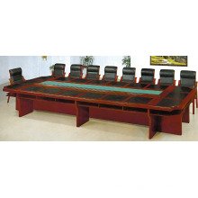 Office Room Conference Wooden Long Shape Meeting Table