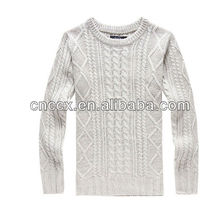 PK17ST215 fashion clothing cable knitted man sweater