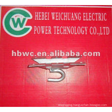 link/line fitting galvanized steel hook used for pole