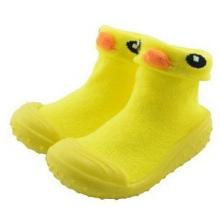 Baby пользовательские 3D животных мультфильм носки с резиновой подошвой baby носки обувь