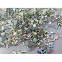 Rectangle Ab Non Hotfix Rhinestone for Costume Accessory
