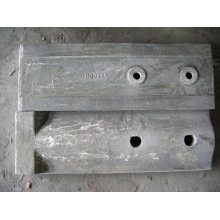 Shell Liner Castings Ball Mill Liners , Chrome Steel Liner