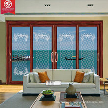 Factoy Custom 4-Panel Sliding Aluminium Door Window                                                                         Quality Choice