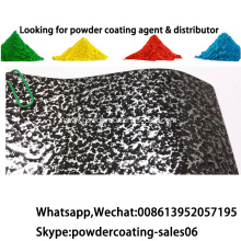 Electrostatic Spray Antique Copper hammer powder coating