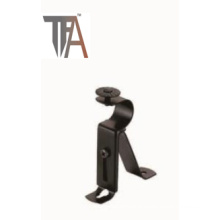Black Iron Curtain Brackets for Window Decoration
