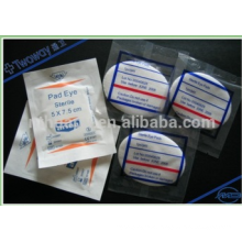 Non-woven/Cotton Gauze Eye Pad individually packing